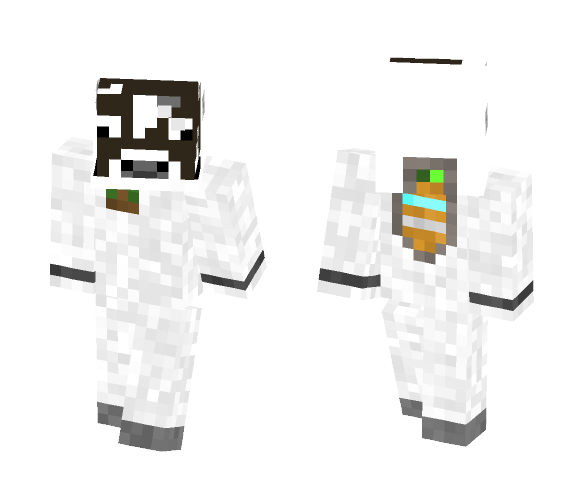 Spacecow - Interchangeable Minecraft Skins - image 1