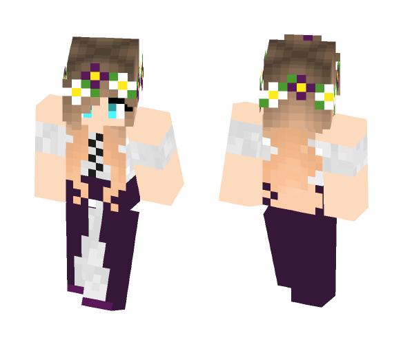 Flower Crown - Flower Crown Minecraft Skins - image 1