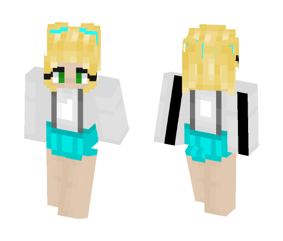 Cotton Candy - Male Minecraft Skins - image 1