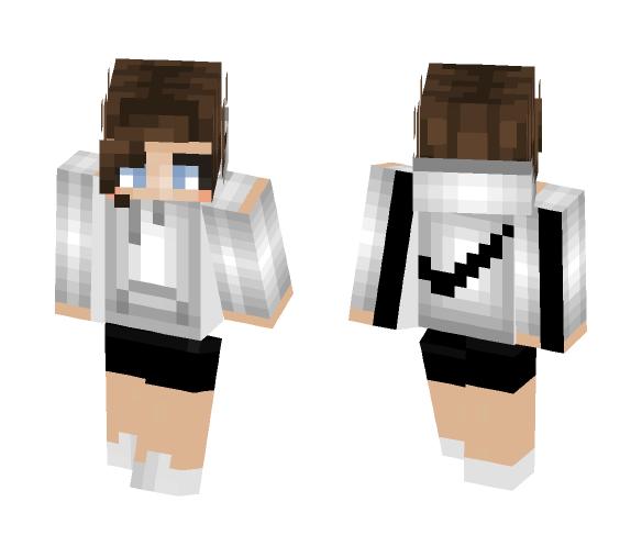 ~Nike Hoodie Girl~ - Female Minecraft Skins - image 1