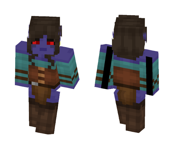 Enara dark elf - Female Minecraft Skins - image 1