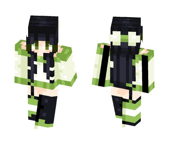 + Bamboo + - Female Minecraft Skins - image 1