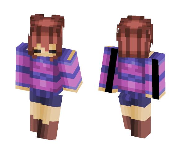 ♡ Frisk ♡ - Female Minecraft Skins - image 1