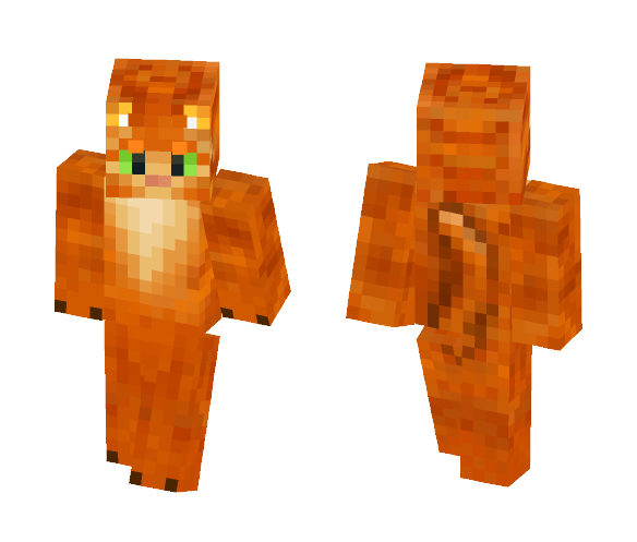 Rusty (WarriorCats) - Male Minecraft Skins - image 1