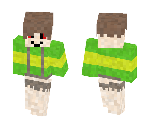 Chara (Undertale) - By LuxrayBoy8 - Other Minecraft Skins - image 1