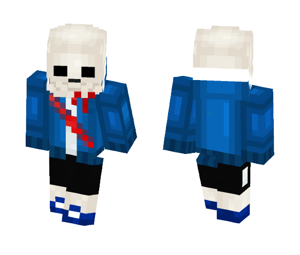 Sans Bloody - Male Minecraft Skins - image 1