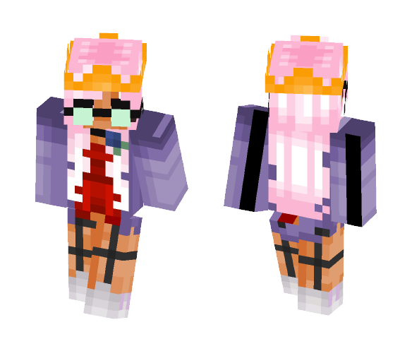 Light Pink - Female Minecraft Skins - image 1