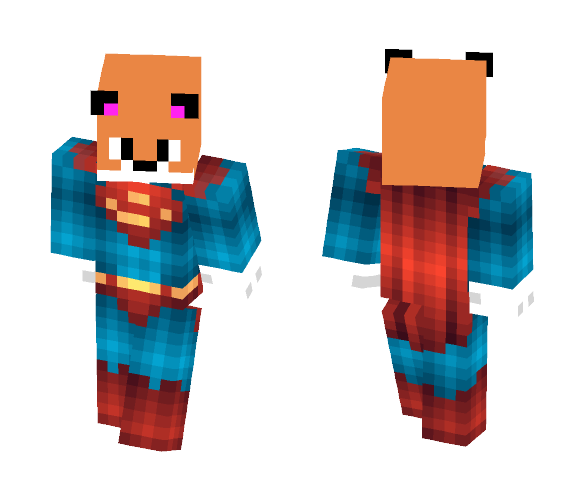 SupaFox - Male Minecraft Skins - image 1