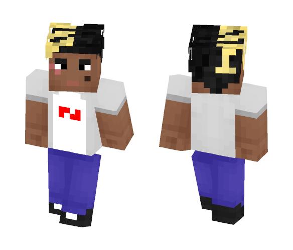 XXXTentacion - Male Minecraft Skins - image 1