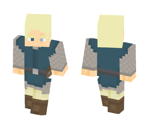 Generic Squire - Male Minecraft Skins - image 1