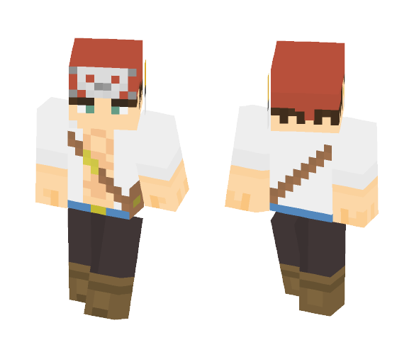 Just a pirate - Male Minecraft Skins - image 1