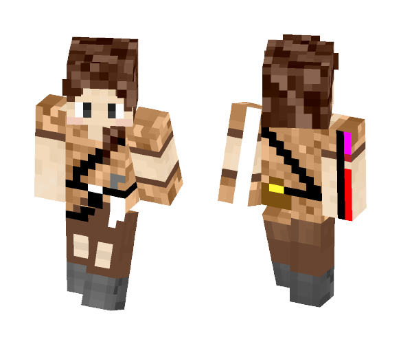 Thief (girl) - Female Minecraft Skins - image 1