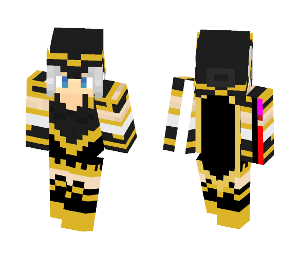 Download Ashe (League of legends) Minecraft Skin for Free