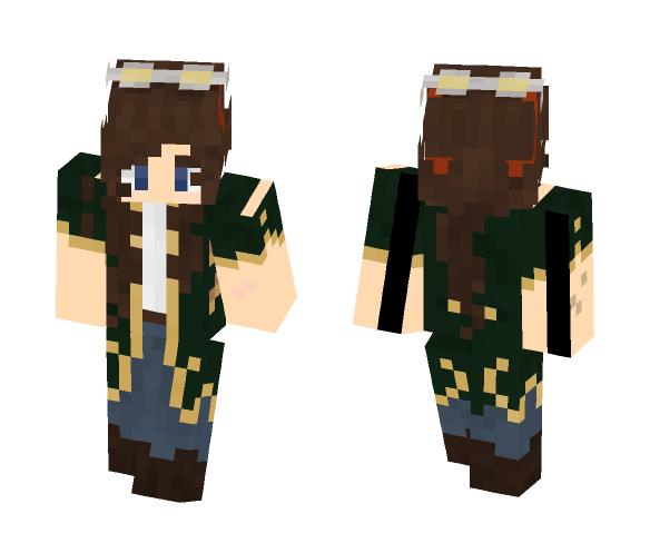 Shayne la synesthète - Female Minecraft Skins - image 1
