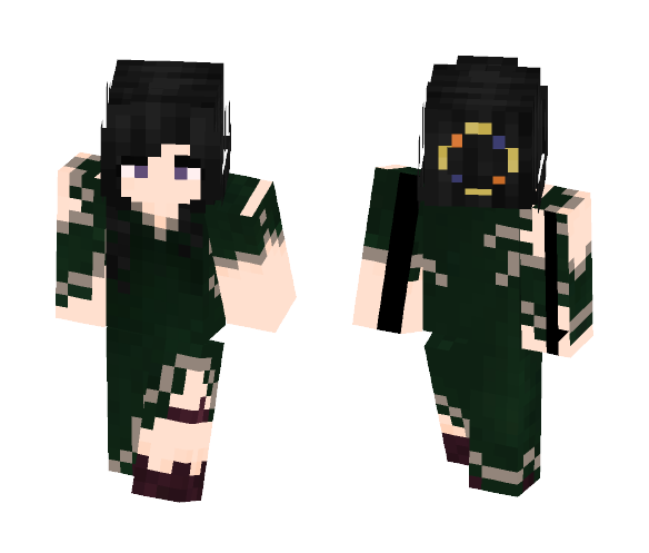 Mathilde - Female Minecraft Skins - image 1