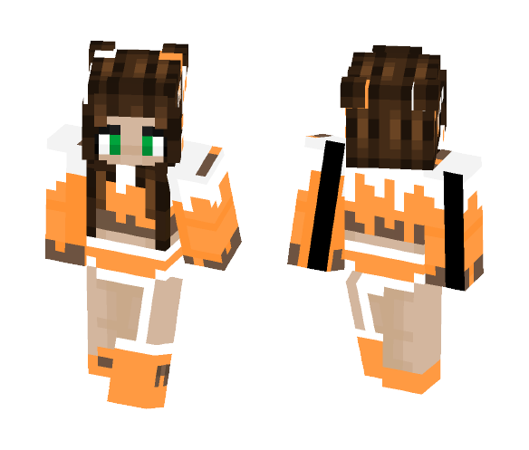 Creamsicle - Female Minecraft Skins - image 1