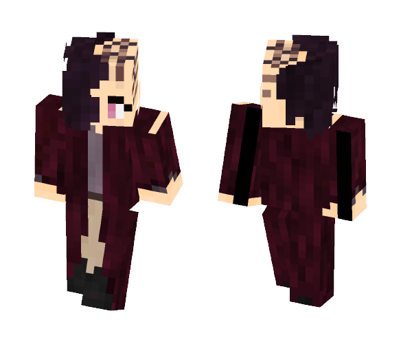 Shayne, excentrique du futur - Female Minecraft Skins - image 1