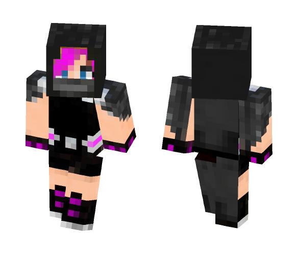 PinkGauntlet (version 1) - Female Minecraft Skins - image 1