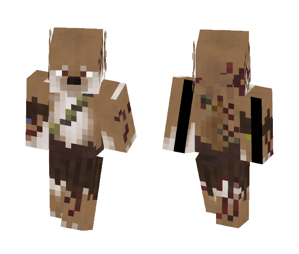 Aetherys : Brown Wolf - Male Minecraft Skins - image 1