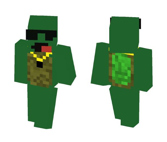OG Turtle - Male Minecraft Skins - image 1