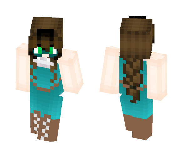 A Currently Unnamed Character ^-^ - Female Minecraft Skins - image 1