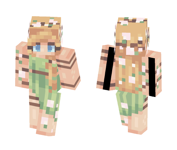 Dryad - Female Minecraft Skins - image 1