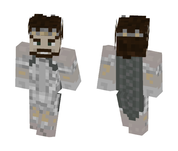 The North Wind - Lament for Boromir - Male Minecraft Skins - image 1