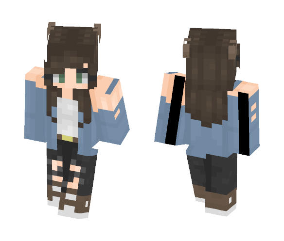 wow a skin that isn't actually shit - Female Minecraft Skins - image 1