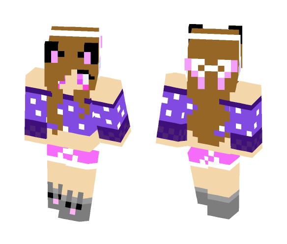 space cat!!!! 0o0 - Female Minecraft Skins - image 1