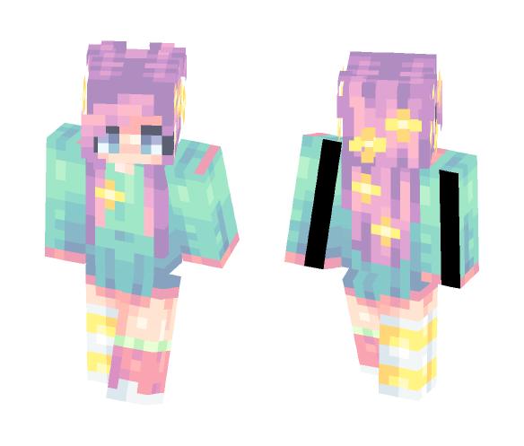 Neon - Female Minecraft Skins - image 1