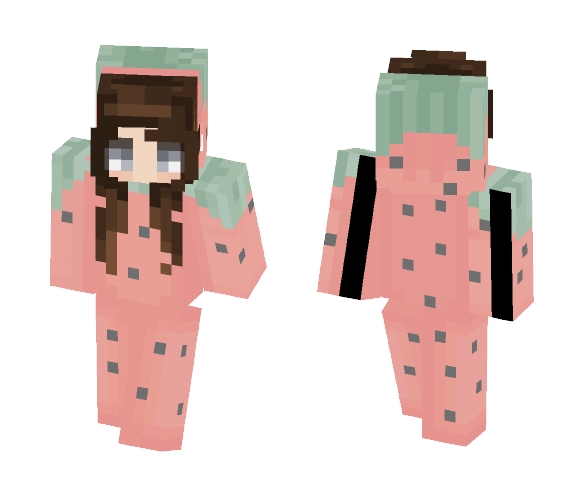 ~ Watermelon :O ~ - Female Minecraft Skins - image 1