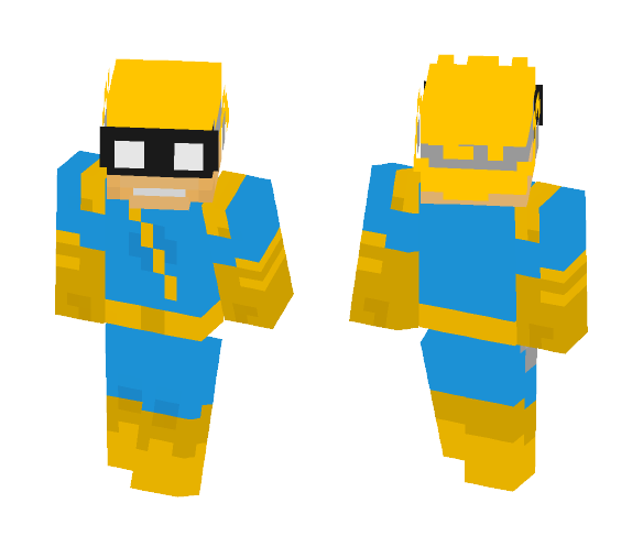 Spaceman Spiff - Calvin and Hobbes - Male Minecraft Skins - image 1