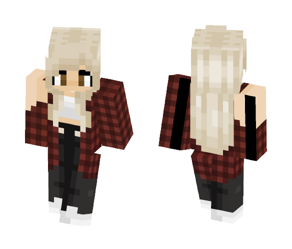 My official 2017 skin - Female Minecraft Skins - image 1