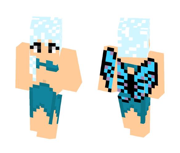 Aquarius-- Water Spirit-- OC - Female Minecraft Skins - image 1