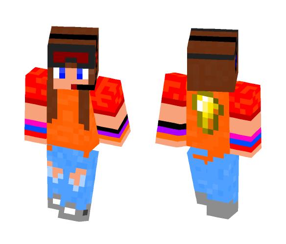 The Tomboy - Female Minecraft Skins - image 1