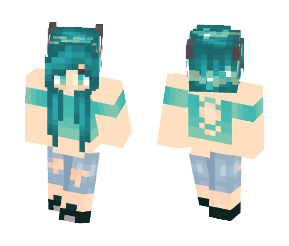קєคςђ Waterworks - Female Minecraft Skins - image 1