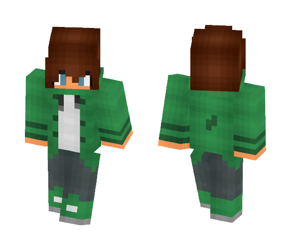 ~Cool girl~ - Female Minecraft Skins - image 1