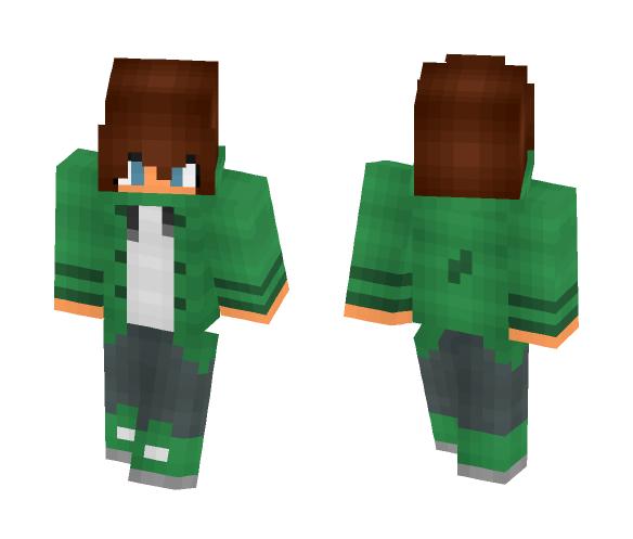 ~Cool girl~ - Female Minecraft Skins - image 1