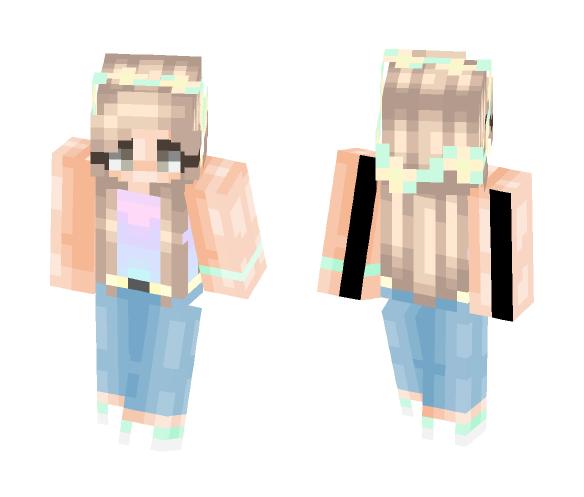 Pastel Summer - Female Minecraft Skins - image 1