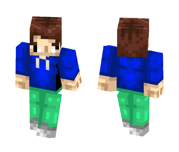snoop dog's cousin - Male Minecraft Skins - image 1