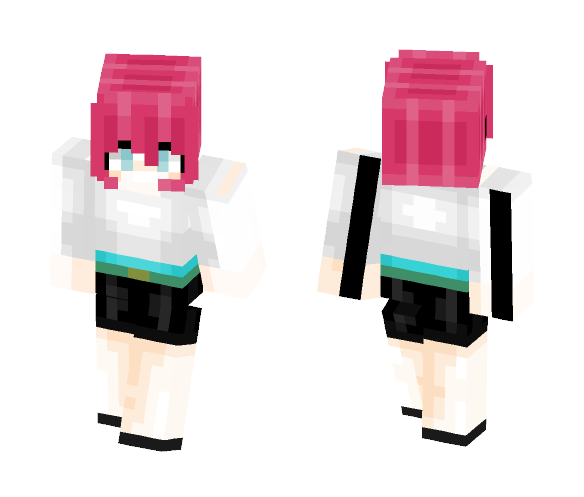 Cropped - Female Minecraft Skins - image 1
