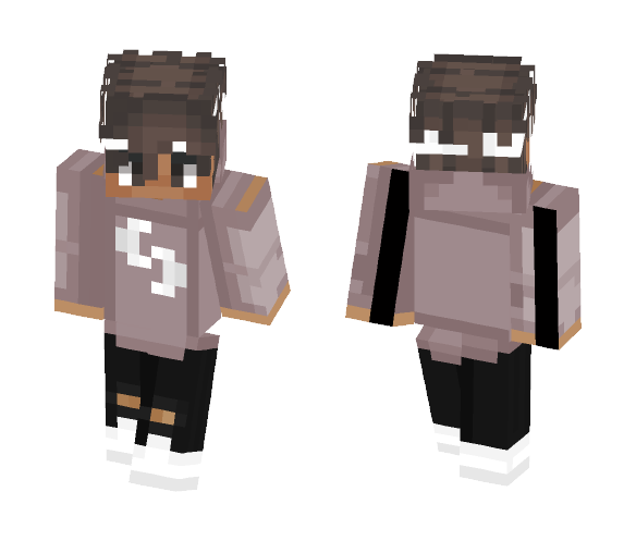 The Brown Cool Kiddo - Male Minecraft Skins - image 1