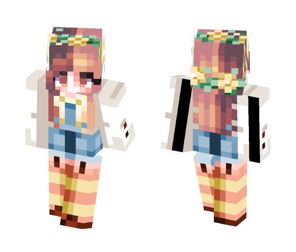 Honey - Felll Fanskin - Female Minecraft Skins - image 1