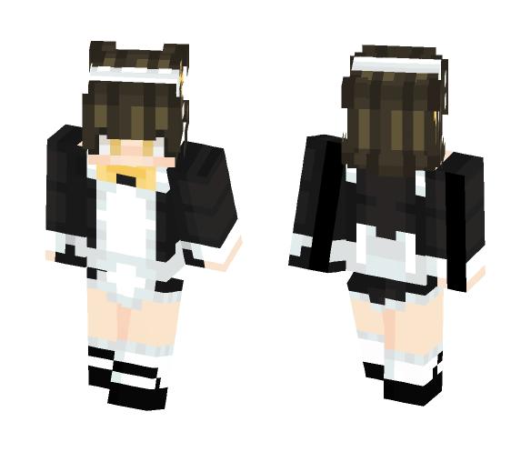 Jyushimatsu Maid - Male Minecraft Skins - image 1