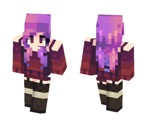 oh no! sunset - Female Minecraft Skins - image 1