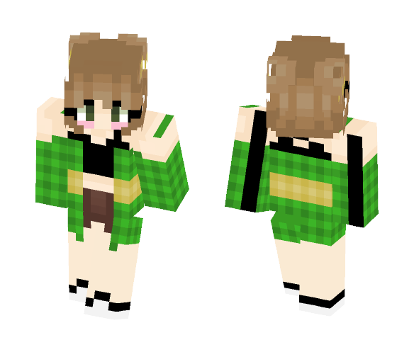 Fanmade Chara! - Female Minecraft Skins - image 1