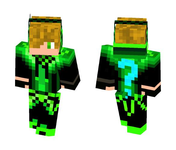 Green/Black hoodie - Male Minecraft Skins - image 1