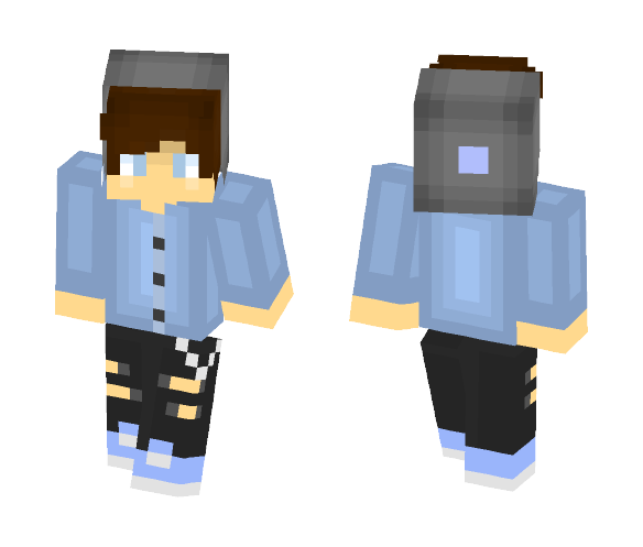 ~ Hipster Guy ~ - Male Minecraft Skins - image 1