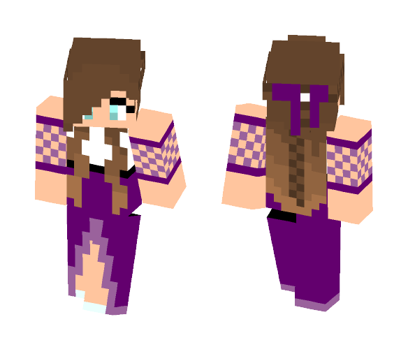 Old Fashioned Girl - Girl Minecraft Skins - image 1
