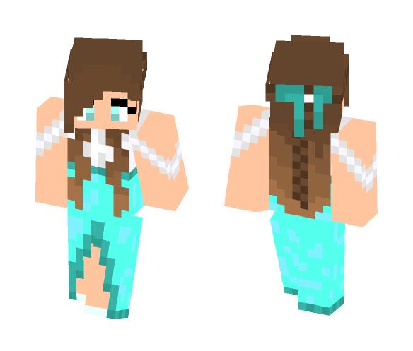 Cute Dress - Female Minecraft Skins - image 1